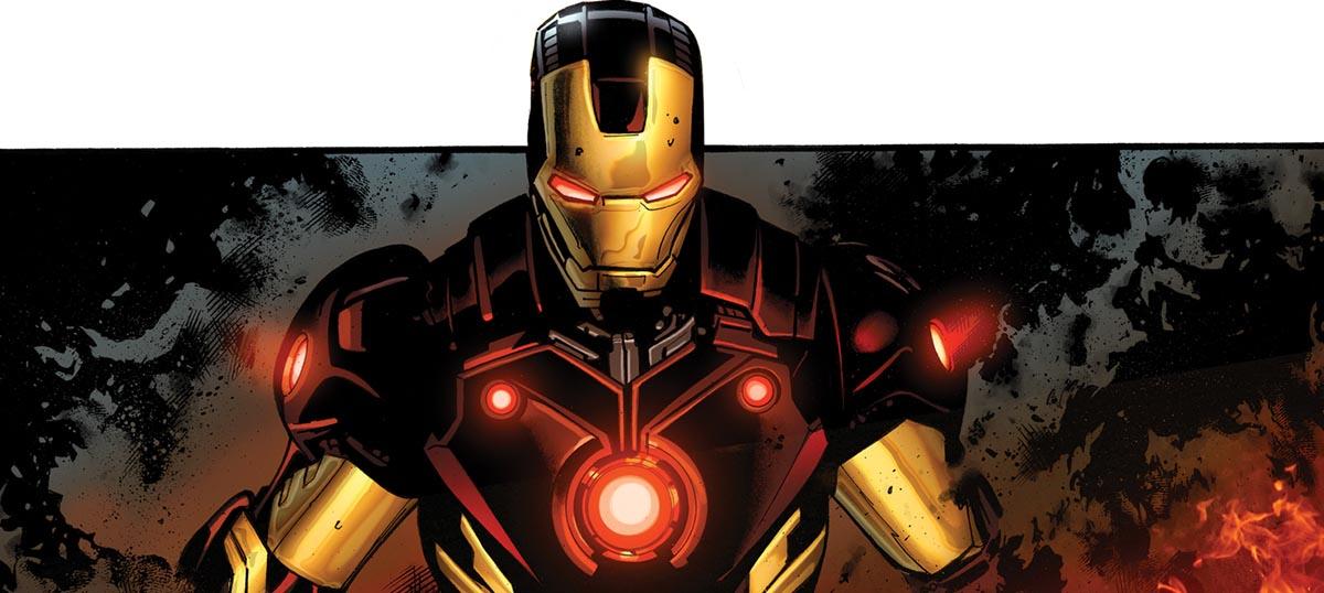 La armadura de Iron Man