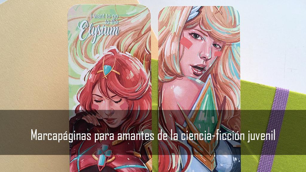 Marcapaginas para amantes de la ciencia-ficcion juvenil