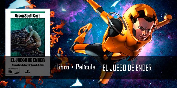 Libro + Película: El juego de Ender
