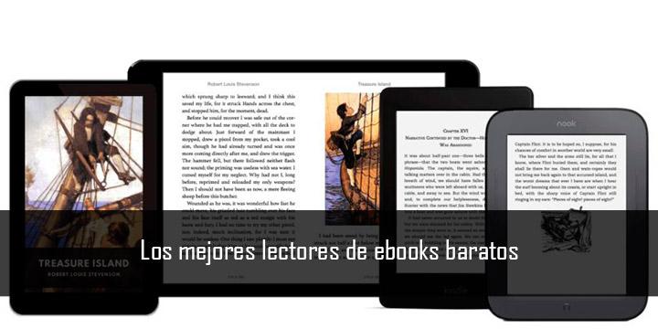 Los mejores lectores de ebooks baratos