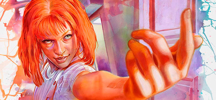 Leeloo fan art by Tegan Bellitta