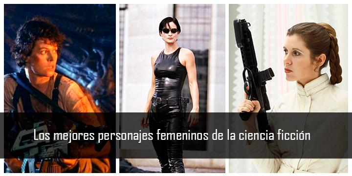 Los mejores personajes femeninos ciencia ficcion