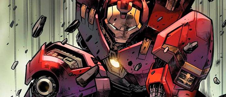 Armadura de Iron Man Hulkbuster