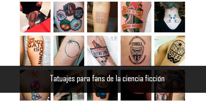 Tatuajes para fans de la ciencia ficción