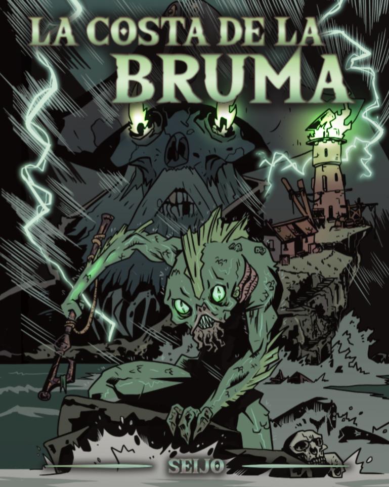 """""""La costa de la bruma"""". Aventura para Dungeons & Dragons by Seijo"""