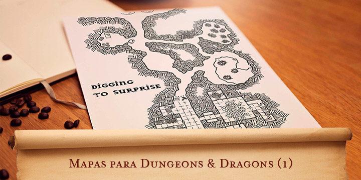 Mapas para Dungeons & Dragons (1)
