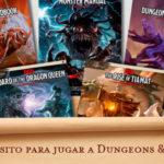 ¿Qué necesito para jugar a Dungeons and Dragons?