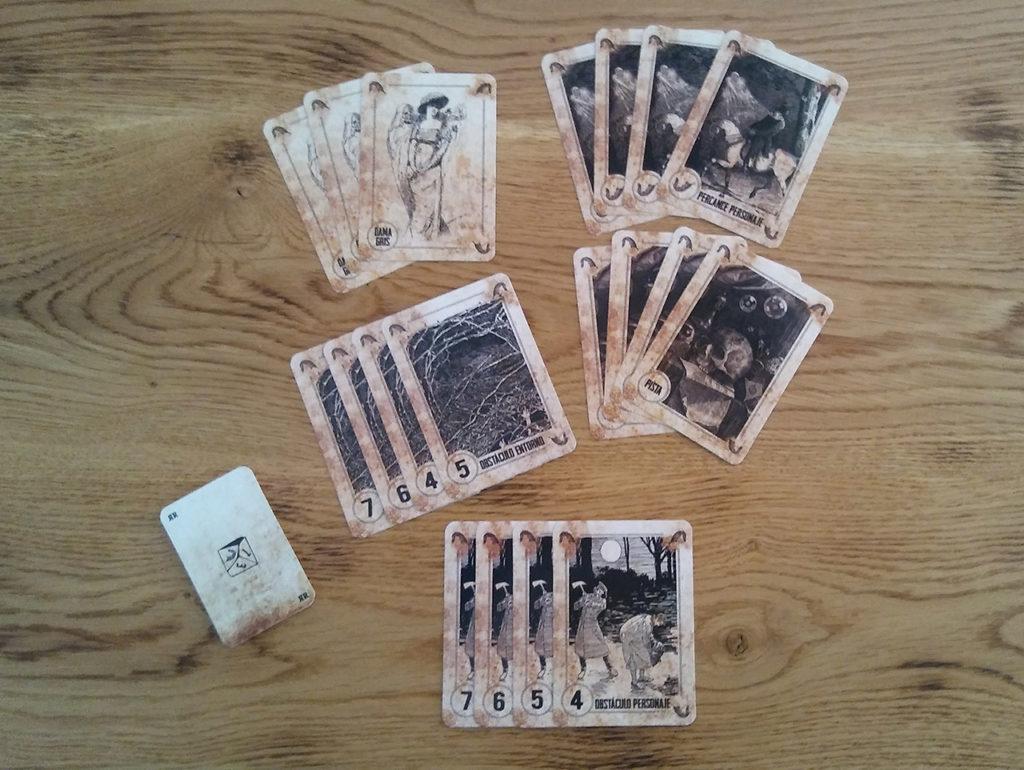 Cartas de juego: Cuentos de ánimas